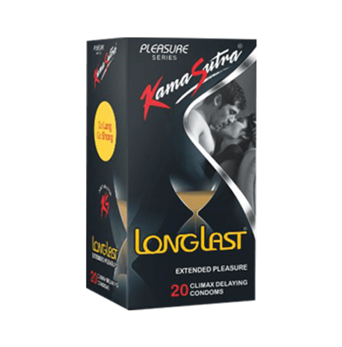Kamasutra Pleasure Series Longlast Condom
