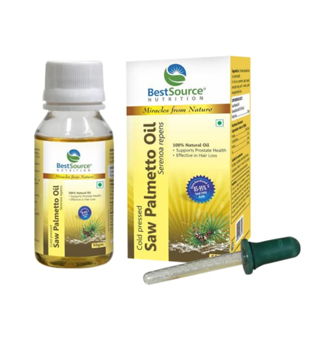 BestSource Nutrition Saw Palmetto Oil