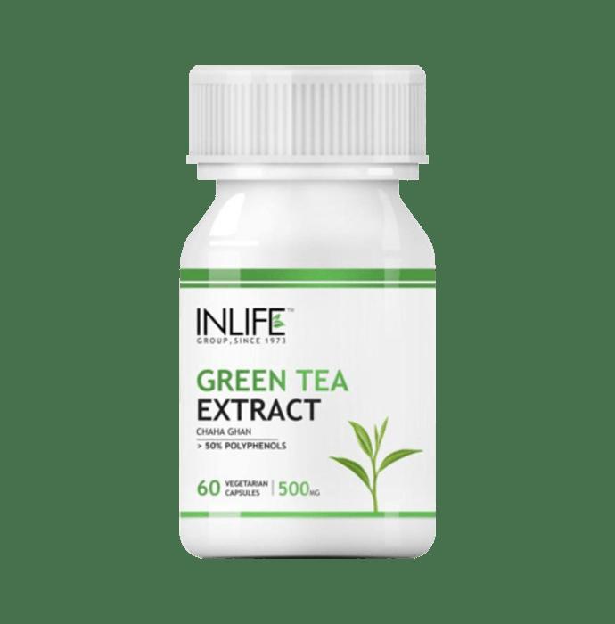 Inlife Green Tea Extract 500mg Capsule