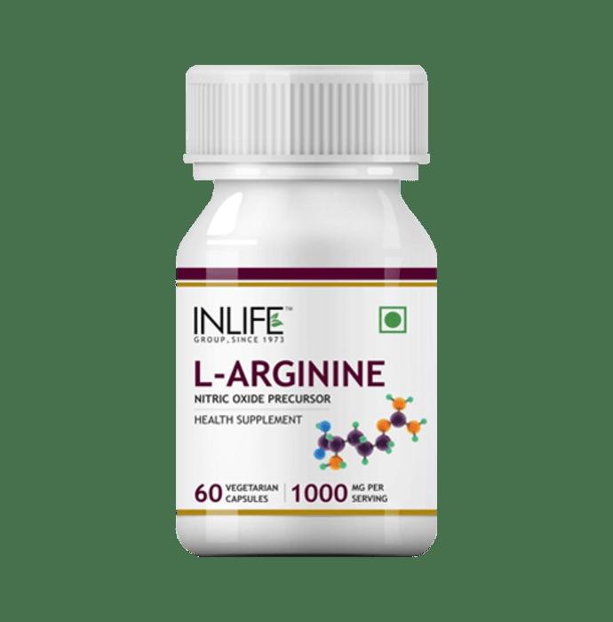 Inlife L-Arginine 1000mg Capsule