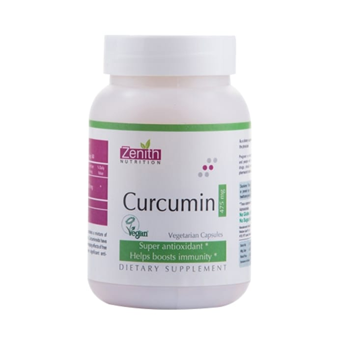 Zenith Nutrition Curcumin 475mg Capsule