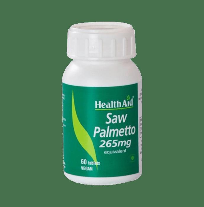 Healthaid Saw Palmetto 265mg Tablet