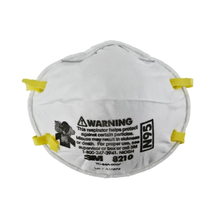 3M N95 8210 Particulate Respirator Mask Pack of 10