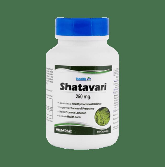 HealthVit Pure Herbs Shatavari 250mg Capsule