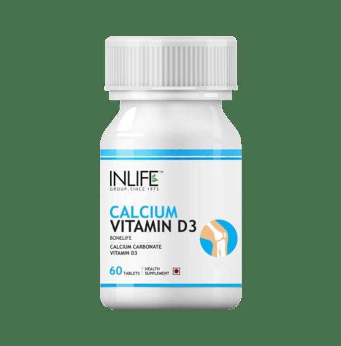 Inlife Calcium Vitamin D3 Tablet