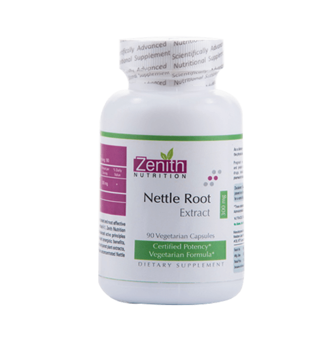 Zenith Nutrition Nettle Root Extract   300mg  Capsule