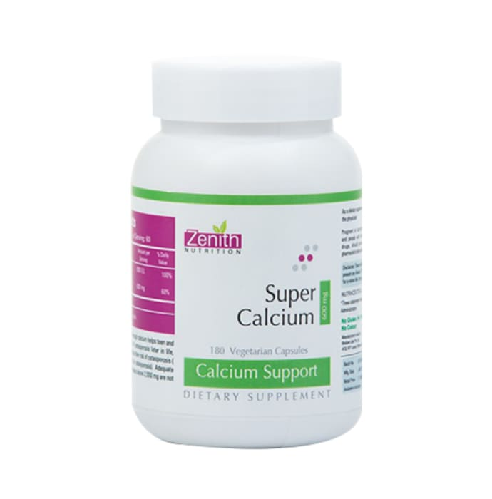 Zenith Nutrition Super Calcium 600mg Capsule