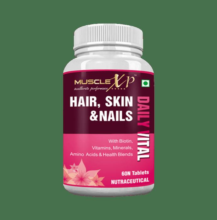 MuscleXP Hair, Skin & Nails Advanced Multivitamin Tablet