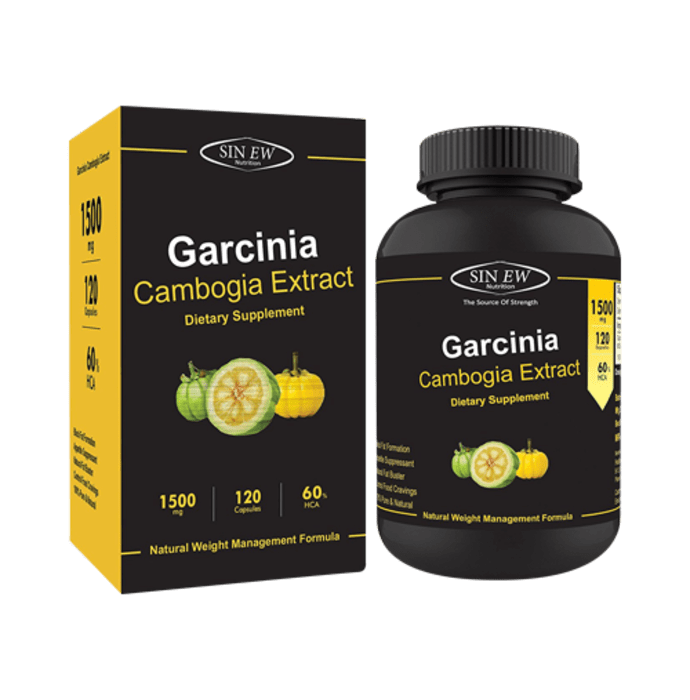 Sinew Nutrition Garcinia Cambogia Extract 1500mg Per Serving