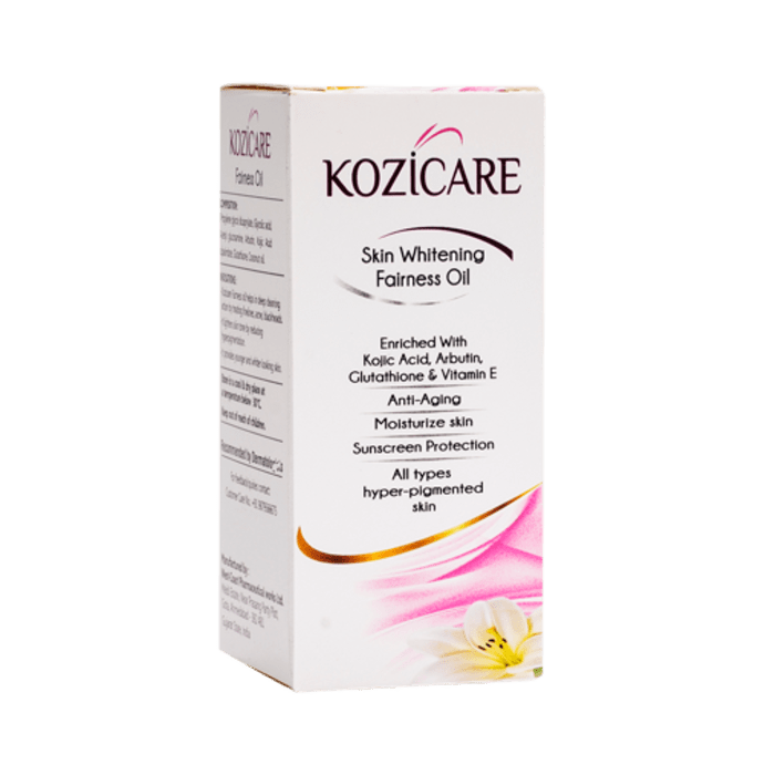 Kozicare Skin Whitening Fairness Oil