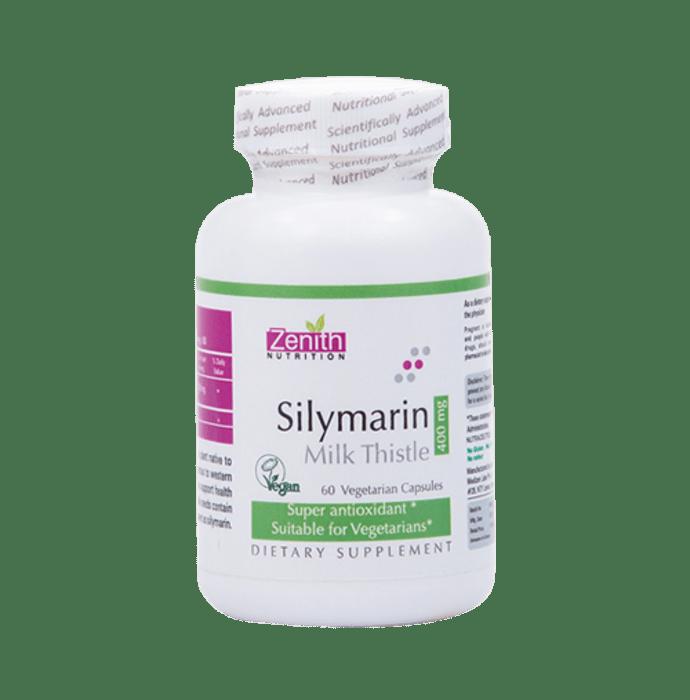 Zenith Nutrition Silymarin Milk Thistle  400mg Capsule