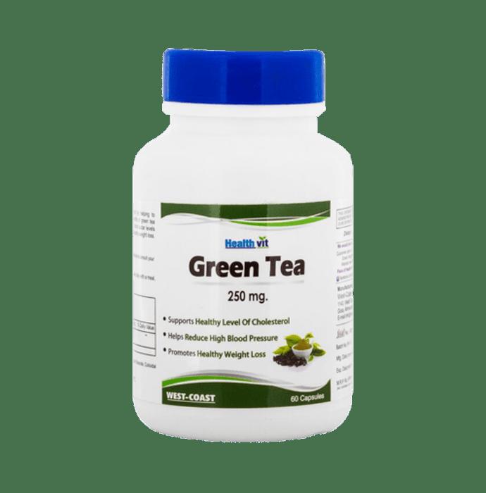 HealthVit Green Tea 250mg Capsule