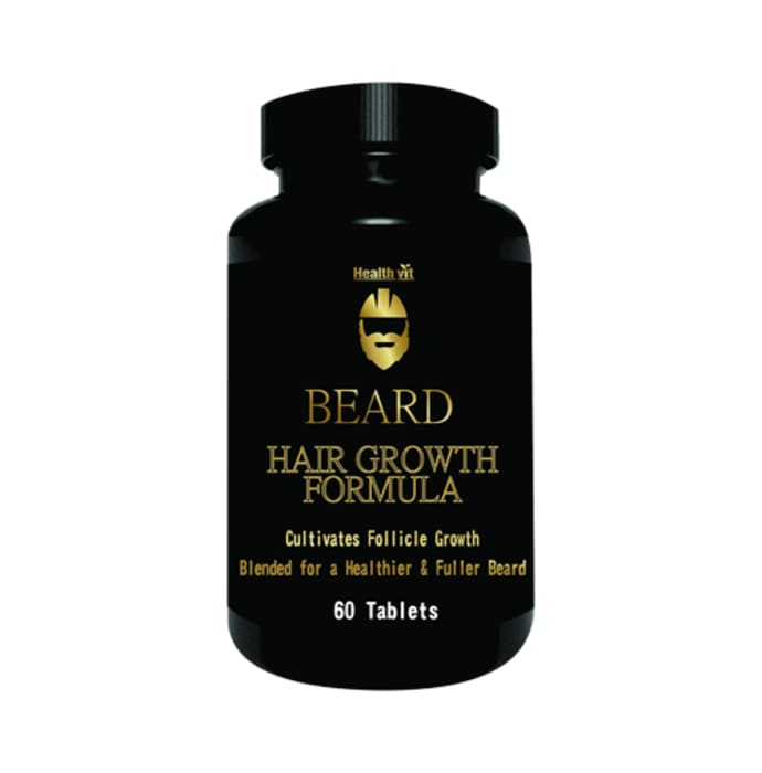 HealthVit Beard Hair Growth Formula Tablet