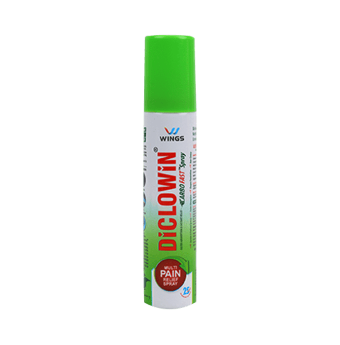 Diclowin Carbofast Multi Pain Relief Spray
