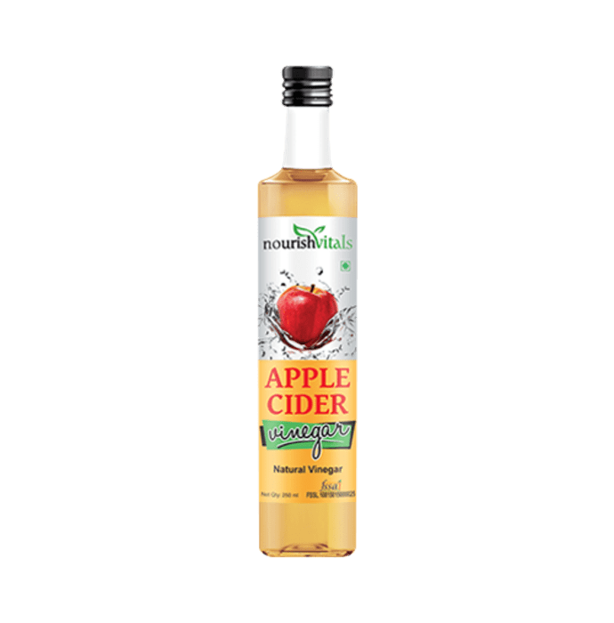 NourishVitals Apple Cider Natural Vinegar