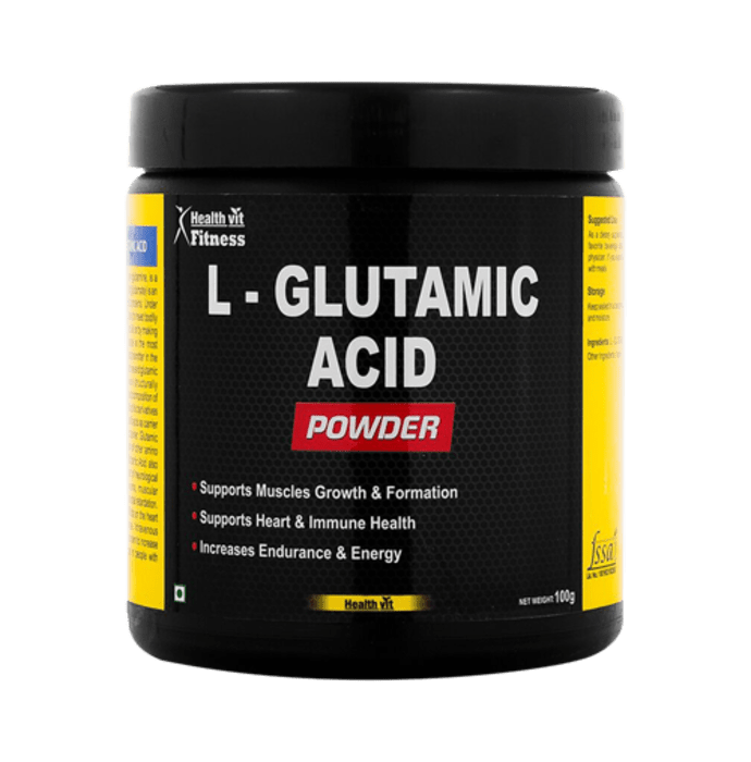 HealthVit Fitness L-Glutamic Acid Powder