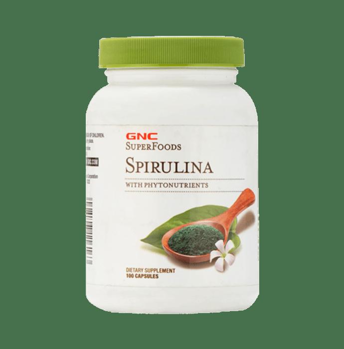 GNC Spirulina 500mg Capsule
