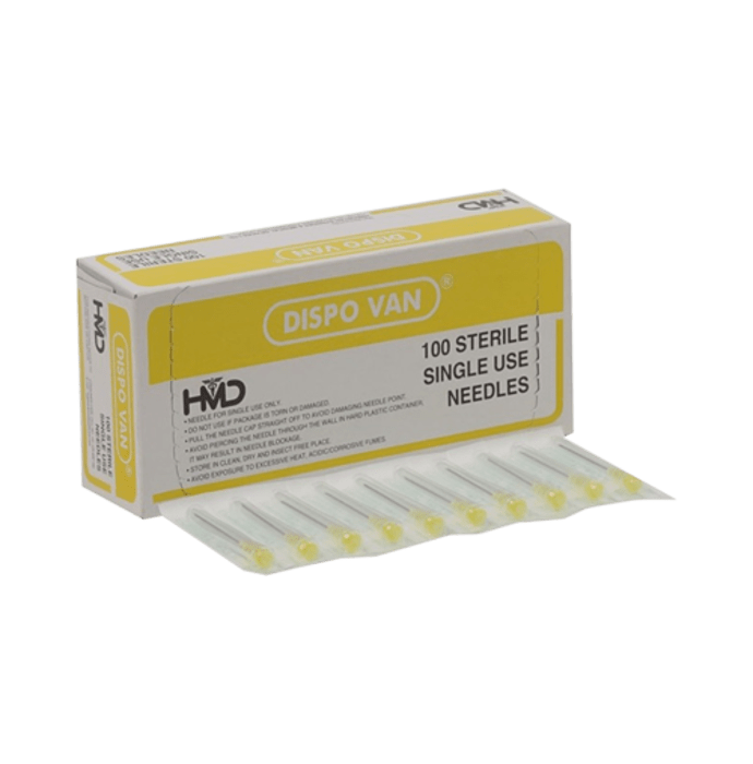 Dispovan Needle 26 G X 0.5 inch