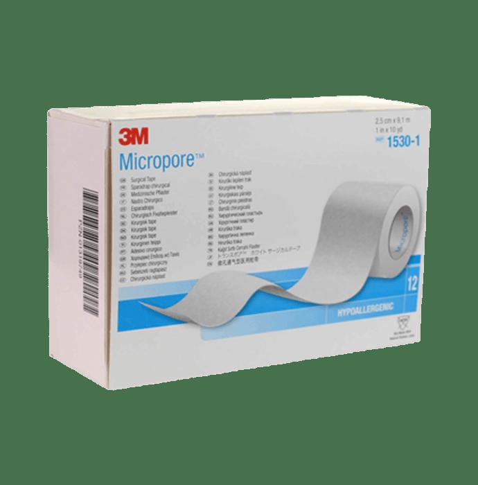 3M 1530-1 Micropore 2.5cm Surgical Tape