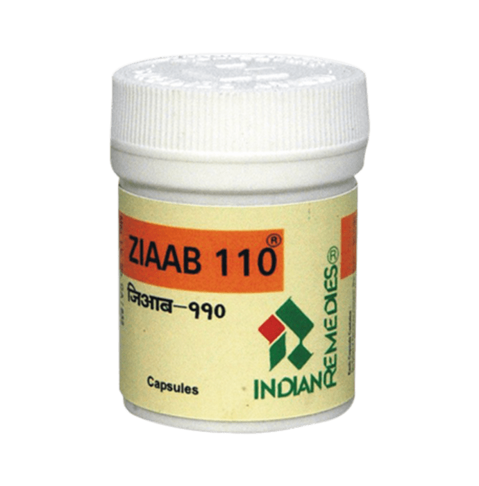 Indian Remedies Ziaab 110 Capsule