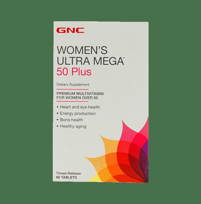 GNC Women's Ultra Mega 50 Plus Tablet