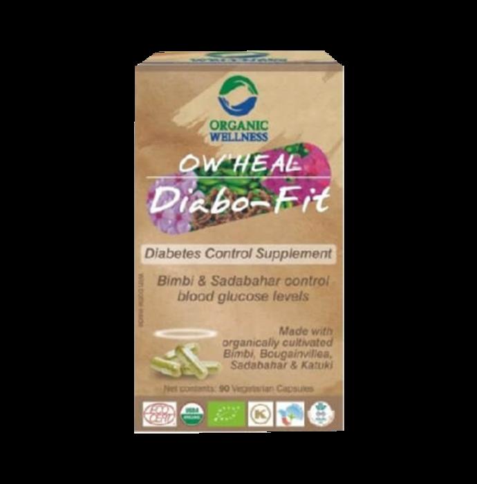 Organic Wellness OW'HEAL Diabo-Fit Capsule