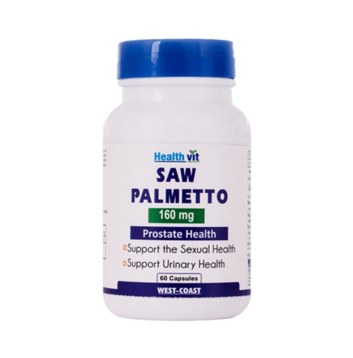 HealthVit Saw Palmetto 160mg Capsule