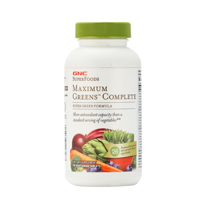 GNC SuperFoods Maximum Green Complete Tablet