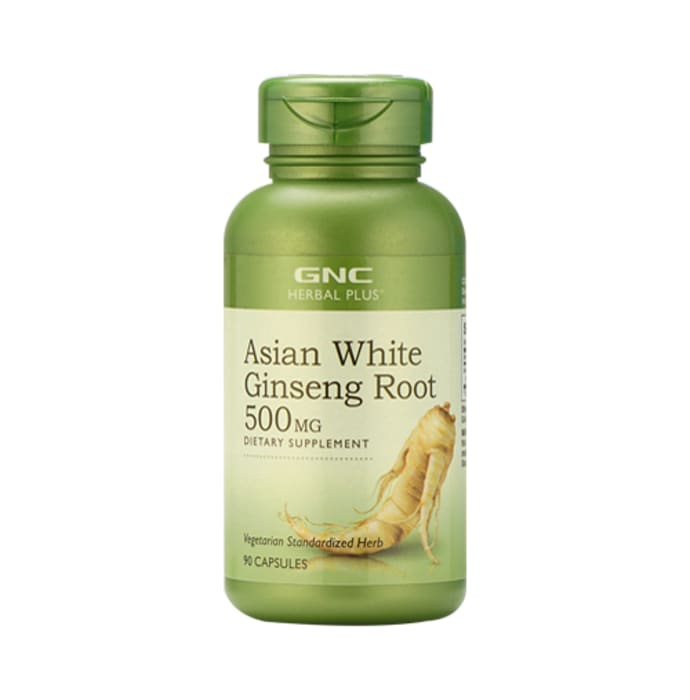 GNC Asian White Ginseng Root Capsule
