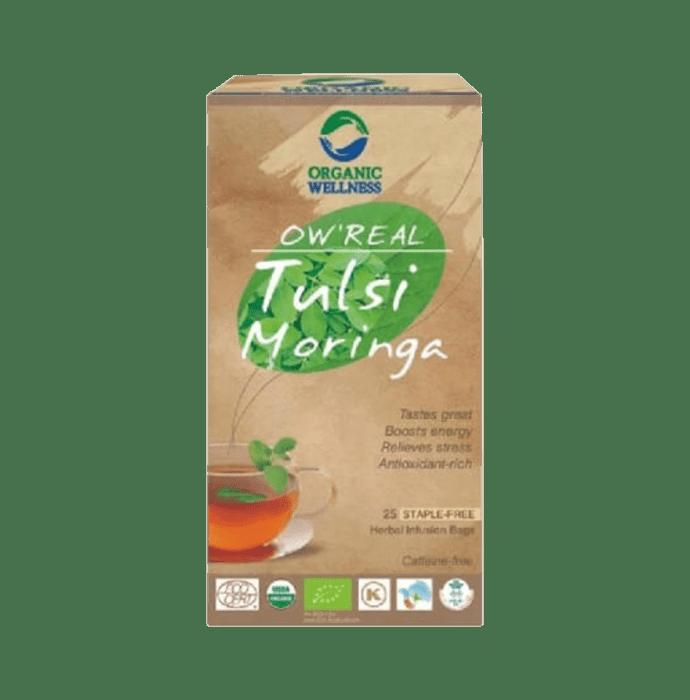 Organic Wellness OW'REAL Tulsi Infusion  Tea Bag Moringa
