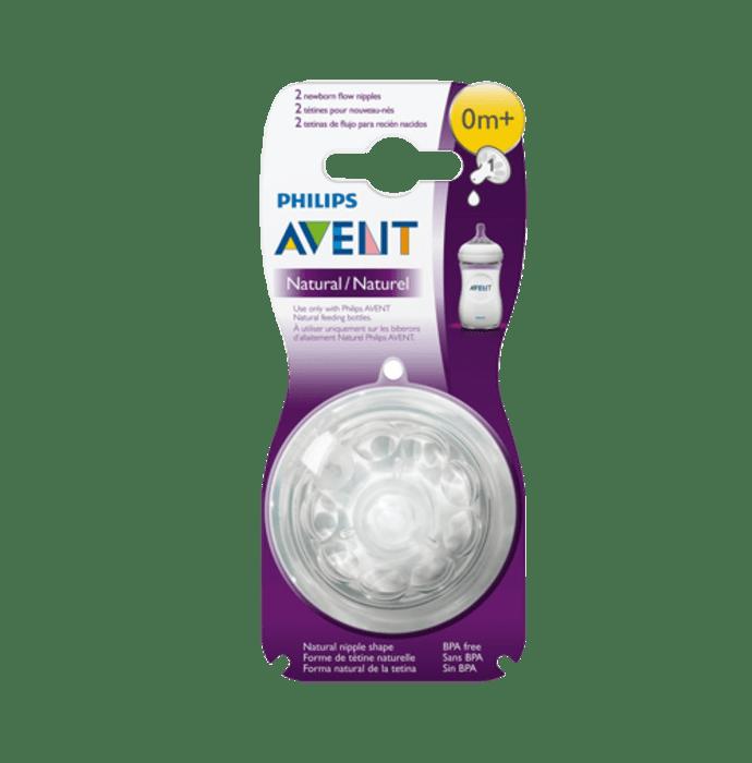 Philips Avent 1 Hole Newborn Flow Natural Teat