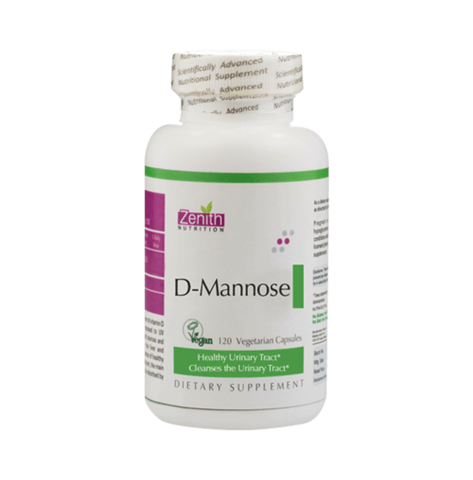 Zenith Nutrition D-Mannose 1000mg Capsule