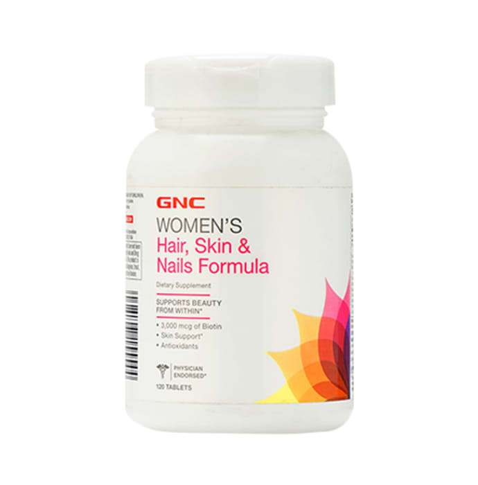 GNC Women's Hair Skin and Nail Formula Tablet