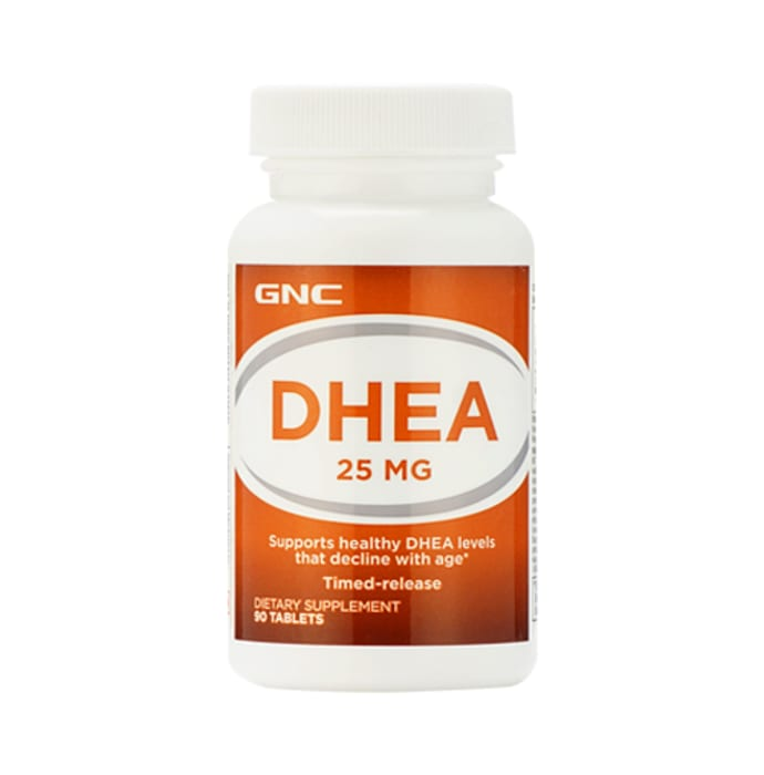 GNC DHEA 25mg Tablet