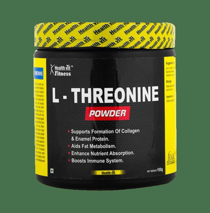 HealthVit Fitness L-Threonine Powder