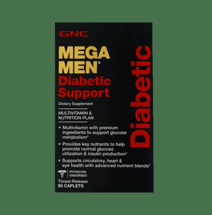 GNC Mega Men Diabetic Support Caplet