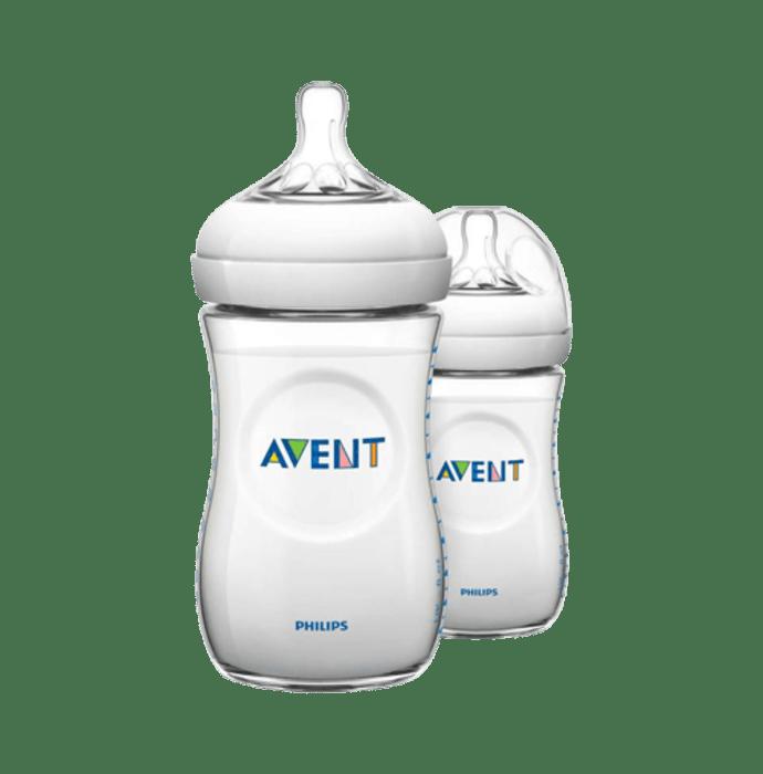 Philips Avent Natural 260ml Feeding Bottle Pack of 2