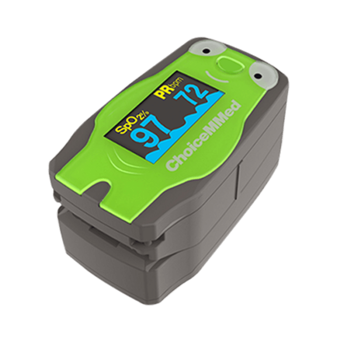 ChoiceMMed MD300C53 Pediatric Fingertip Pulse Oximeter Green