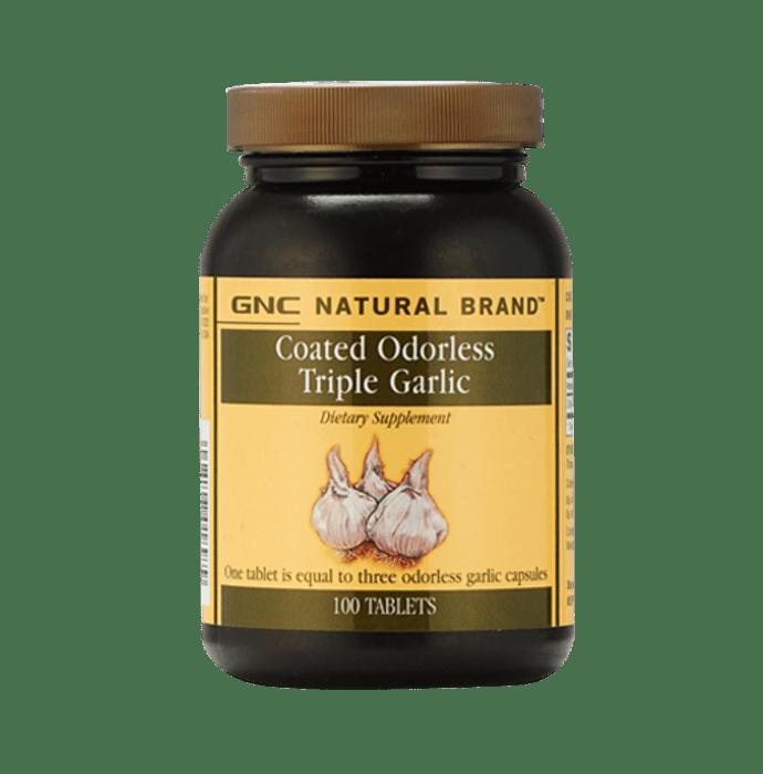 GNC Coated Odorless Triple Garlic Tablet