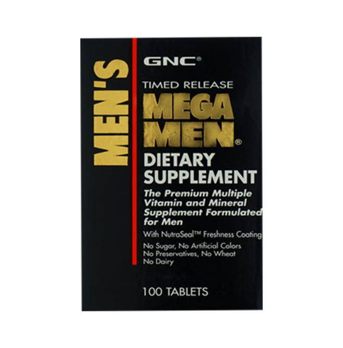GNC Mega Men Tablet