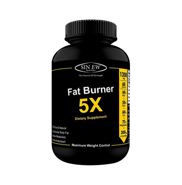 Sinew Nutrition Fat Burner 5X 1200mg Capsule