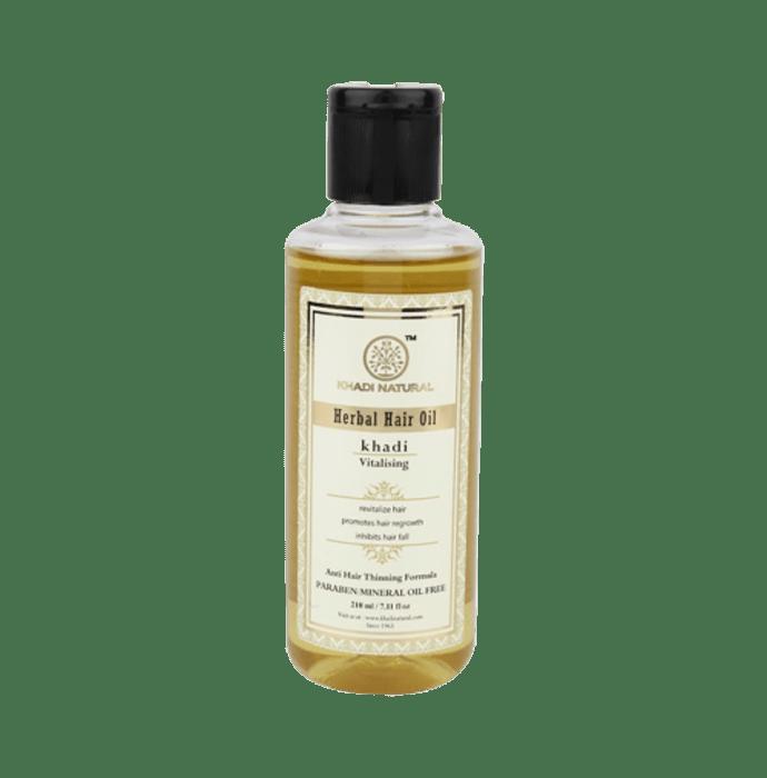 Khadi Naturals Ayurvedic Vitalising Hair Oil Paraben /Mineral Oil Free
