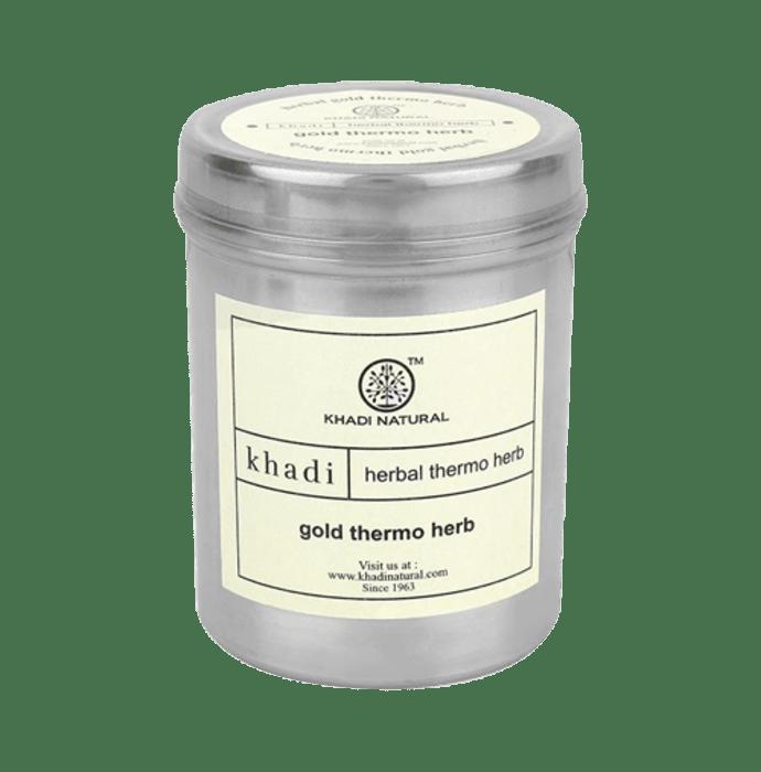 Khadi Naturals Ayurvedic Gold Thermo Herb Face Mask