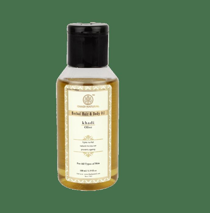 Khadi Naturals Ayurvedic Olive  Oil