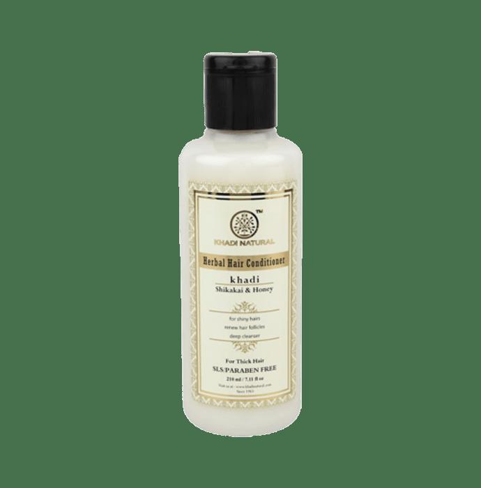 Khadi Naturals Ayurvedic Shikakai & Honey Hair Conditioner SLS & Paraben Free
