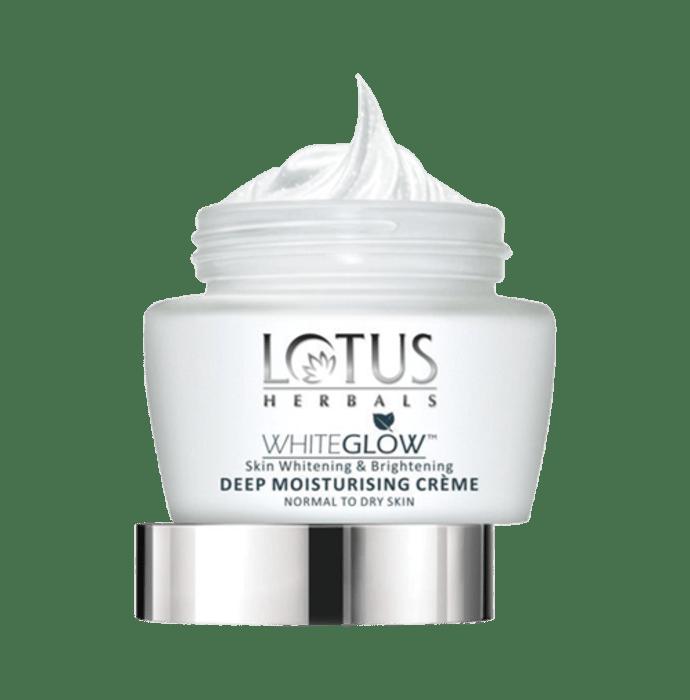 Lotus Herbals WhiteGlow Skin Whitening and Brightening Deep Moisturising Creme