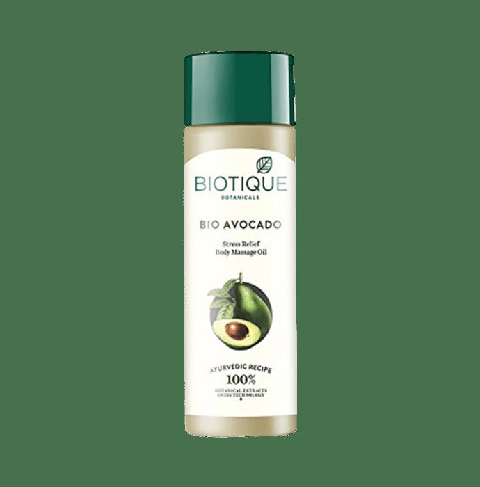 Biotique Bio Cado Avocado Stress Relief Body Massage Oil