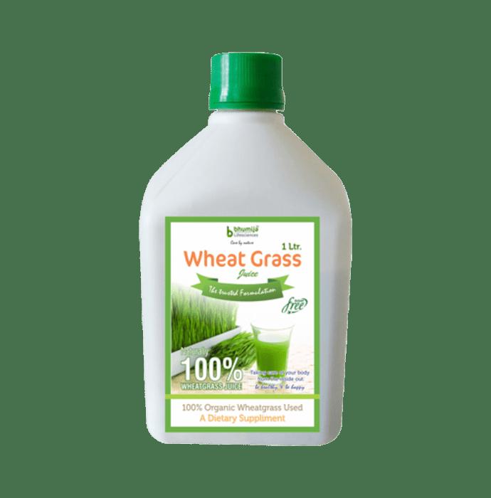 Bhumija Lifesciences Wheat Grass Juice Plain