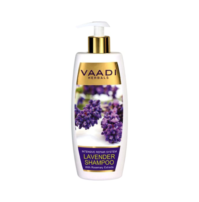 Vaadi Herbals Lavender Shampoo with Rosemary Extract-Intensive Repair System