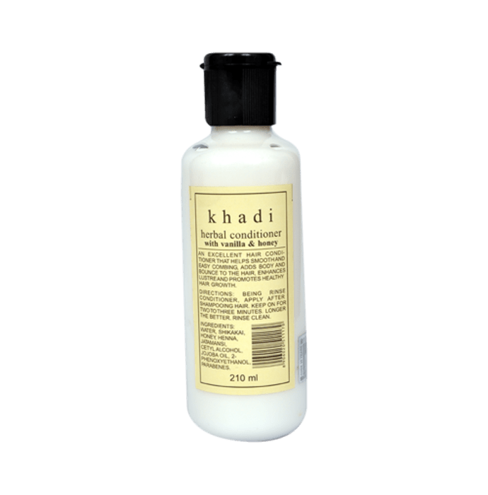 Khadi Naturals Herbal Hair Conditioner With Vanilla & Honey